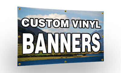 Outdoor PVC Banner with Eyelets - PRINTED