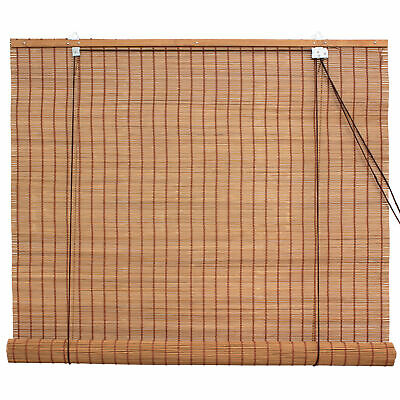 Bamboo Roll Up Blinds Caramel