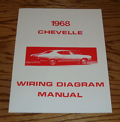 1968 Chevrolet Chevelle Wiring Diagram Manual 68 Chevy