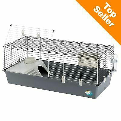 Extra Large Spacious Rabbit Chinchila Guinea Pig indoor Small Pet Cage - Grey