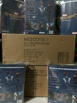 "Mezco ONE 12 COLLECTIVE Spider-Man Homecoming 6 "" figure IN STOCK SHIPPING NOW!"