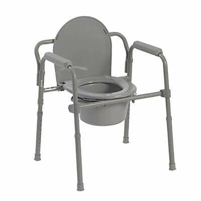 Toilet Seat For Elderly.Bedside Commode Portable Toilet Seat Riser Handicap Bathroom