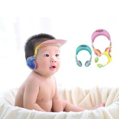Waterproof Plastic Ear Caps Ear Protection Ear Protector Cover Earmuffs for Baby