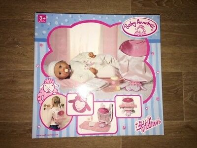 BNIB Zapf Creations Baby Annabell Changing Mat + Accessories