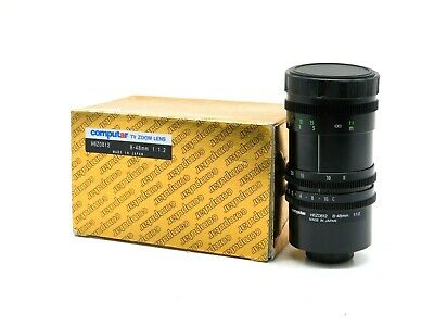 New Computar H6Z0812 Zoom Lens 8-48Mm 1:1.2