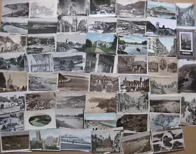 DEVON Job Lot of 1000 x Old Postcards c1900-50s, Mainly Smaller Towns & Scenery