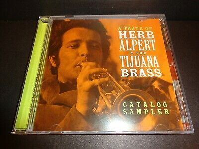 A TASTE OF HERB ALPERT & THE TIJUANA BRASS-Catalog Sampler-Rare Promotional CD