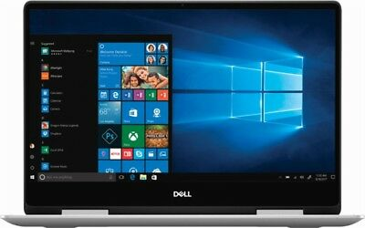 "Dell Inspiron I7386-5038Slv-Pus 2-In-1 13.3"" Fhd Touch Screen Laptop 256Gb Ssd"