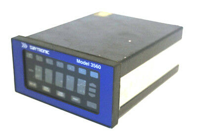 Used Daytronic Model 3560 Voltage Panel Meter