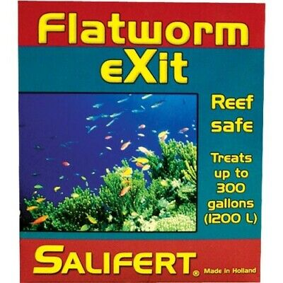 Salifert Flatworm EXIT Reef Safe Treatment Medication Treats up to 300 Gallons