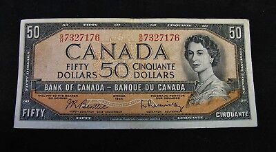 1954  -  Fifty Dollar Bank Note.  Nice Collectible Note !!!  BH !!