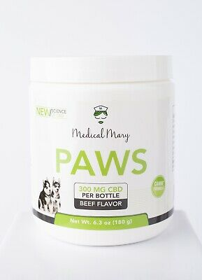 CBD Paws (For Dogs and Cats) 300mg/30 - 60 per servings/ 6oz