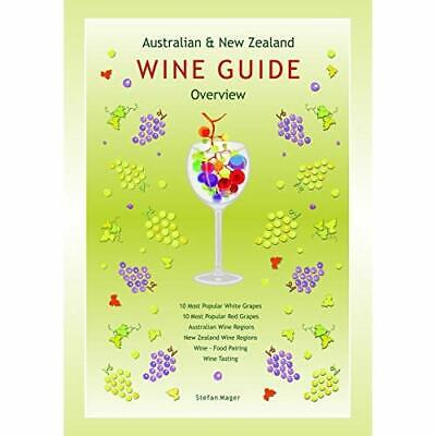 Australian and New Zealand Wine Guide - Wallchart NEW Mager, Stefan 01/10/2010