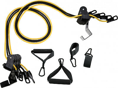 HOME GYM EQUIPMENT Total Body Fitness Exercise, Door Attached, Resistance Bands