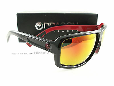 a199e691c0 NEW DRAGON DOUBLE DOS POLARIZED SUNGLASSES Matte Stealth Black Grey ...