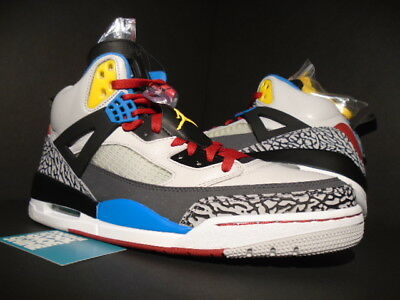 pretty nice a7b15 5cfe7 2012 Nike Air Jordan Spizike Bordeaux Cement Grey Red Black Green Blue  White 12