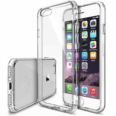 Apple iPhone 7, 8, Plus X XS MAX XR Case Shockproof Silicone TPU Bumper Cover