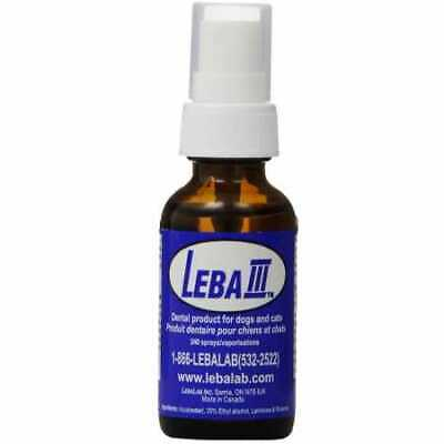 Leba III Pet Dental Spray 1 oz