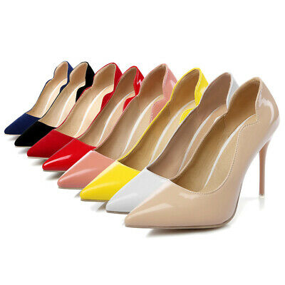 80530e94b6bd New Women High Heels Dress Pumps Sexy Party Shoes Slip On Pointed Toe  Stilettos