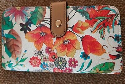 Lovely Floral Wallet By Laura Jones