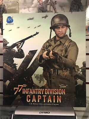 DID Sam WWII 77th division shirt 1//6 scale toys Dragon Soldier GI bbi Joe alert