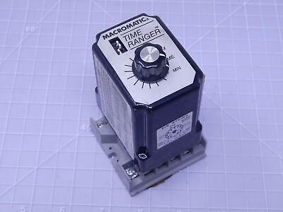 MACROMATIC SS 61522 Time Delay Relay T115387 on