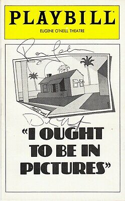 DINAH MANOFF Signd Playbill for her Tony Award role in I OUGHT TO BE IN PICTURES