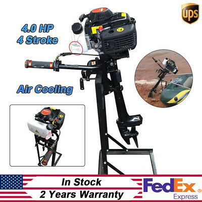 4Stroke 52CC 4HP Outboard Motor Inflatable Boat Sailboat Engine CDI 2.8 KW UPS