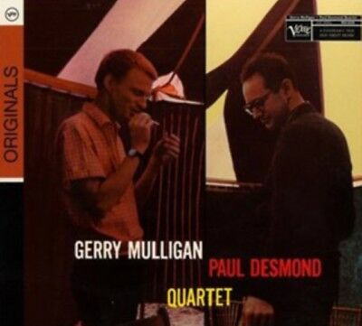 Gerry Mulligan Paul Desmond - Blues In Time NEW CD