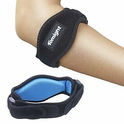 Tomight [2 Pack] Elbow Brace, Tennis Elbow Brace with Compression Pad for Both M