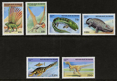 Nice Benin 1040-1048 Sheetlet Mint Never Hinged Mnh 1998 Prehistoric Animals Africa Benin