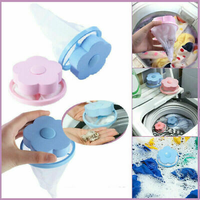 Household Floating Filter Bags Pet Fur Lint Hair Catcher Laundry Hair Remover
