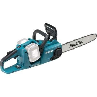 Makita DUC353Z Twin 18v 36v Cordless Chainsaw Twin 35cm Bar Body Only