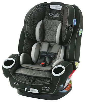Graco Baby 4Ever DLX Platinum 4-in-1 Car Seat Infant Child Safety Hurley NEW