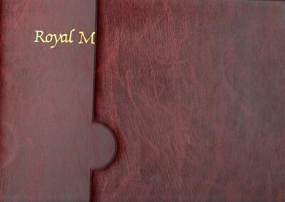 ROYAL MAIL FIRST DAY COVER ALBUM with SLIP CASE SUPERB CONDITION