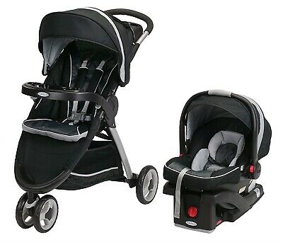 Graco Baby FastAction Fold Sport Click Connect Travel System Gotham