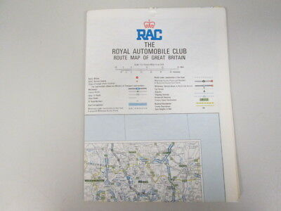 Good - RAC Route Map of Great Britain - No Author 1978-01-01 1983 reprint.  Map.