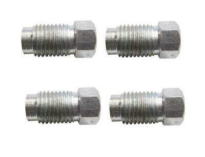 """4 x Male Brake Pipe Nuts Connector 7/16"""" UNF 20Tpi Joiner"""