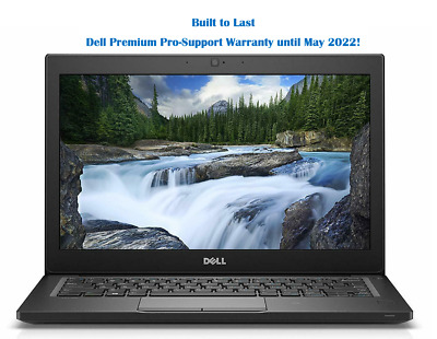 "Dell Latitude 7290 12.5"" Laptop i5-7300U/16GB/256GB SSD/Backlit KB/3YR Warranty"