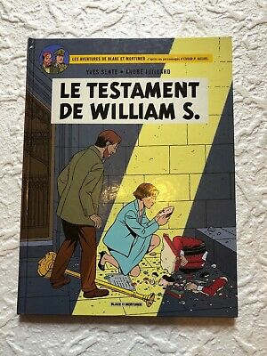 Blake et Mortimer Le Testament de William S. T24  EO 2016