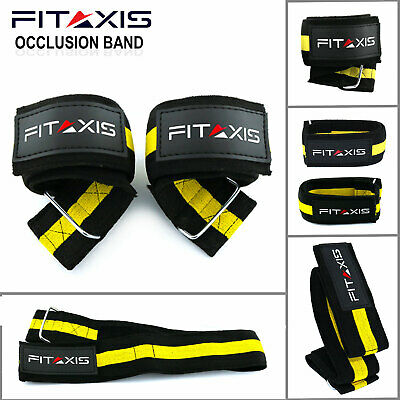 """Incline Dumbbell Arms Occlusion Training Lifting muscle Bands L-36.50""""/M-24.50"""""""