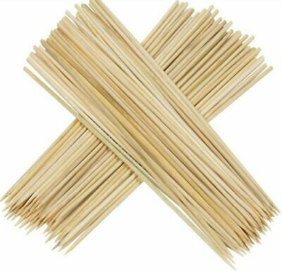 Bamboo Skewers Sticks 150pcs BBQ Kebab Fruit Wooden Wood Sticks 12Inch/30cm