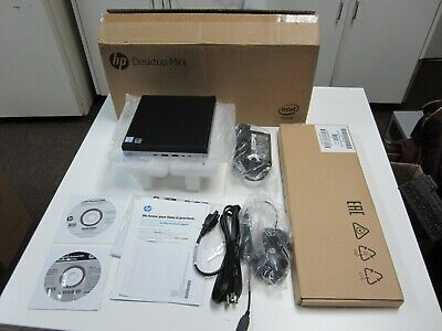 NEW HP ELITEDESK 800 G3 i7 6700T 2 8GHz 256GB SSD 16GB Mini Desktop -HP  Warranty
