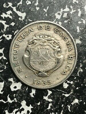 North & Central America 1920 Costa Rica 10 Centimos Lot#l491 Low Mintage Coins