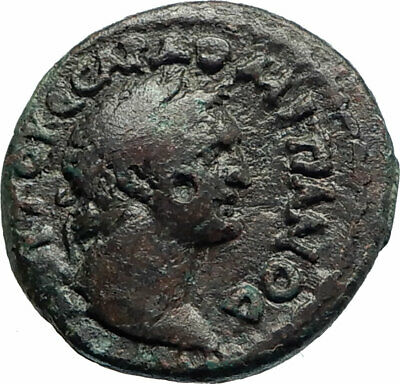 DOMITIAN 81AD Amphipolis Macedonia ARTEMIS  Ancient Roman / Greek Coin  i76241