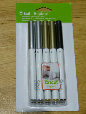 Cricut Explore Everyday Collection Pen Set - Marker NEW Sealed 10 Pack 2003769