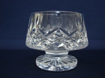 "Waterford Crystal LISMORE 3-1/4"" Footed Open Sugar Bowl Signed"