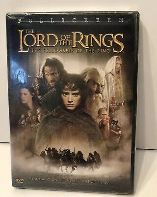 The Lord of the Rings: The Fellowship of the Ring DVD, 2002, 2-Disc Full screen