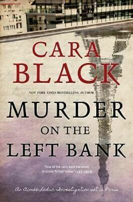NEW Murder On The Left Bank By Cara Black Hardcover Free Shipping