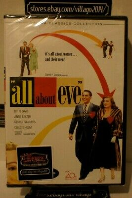 All About Eve  NEW DVD FREE SHIPPING!!